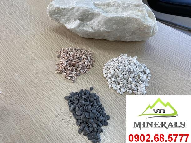 Báo giá đá hạt dùng trong sản xuất gạch terrazzo và mài granito