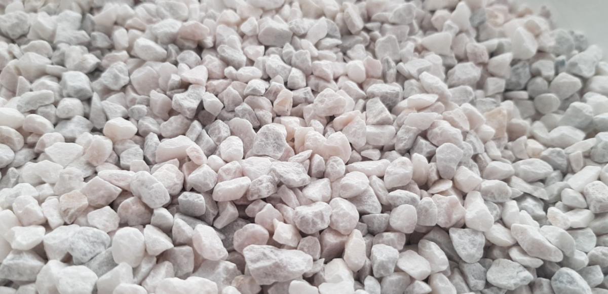 đá hạt trắng